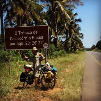 Crossing Capricorn Tropics in Mozambique, February 2015