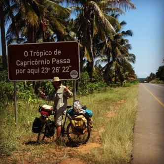 Crossing Capricorn Tropics in Mozambique, February 2015