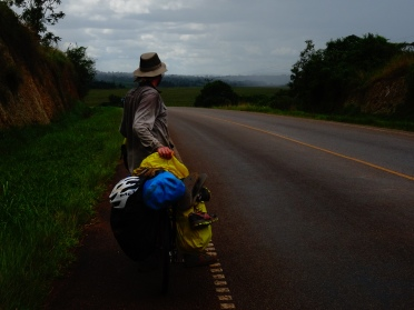 Entebbe/Mubende road in Uganda