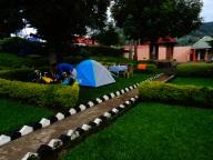 Virunga campsite, Kisoro, Uganda