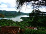 Riding along Lake Kivu, Rwanda