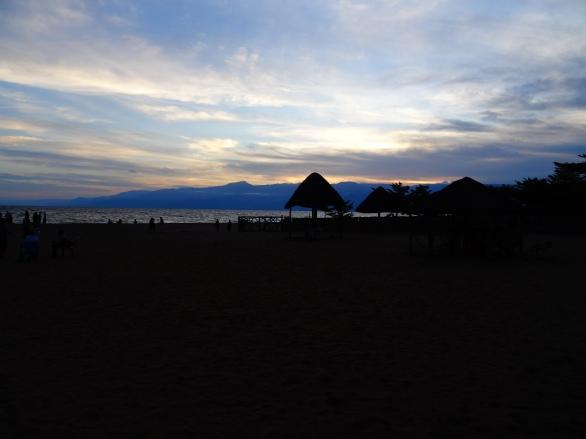 Black'N'White beach, Bujumbura, Burundi
