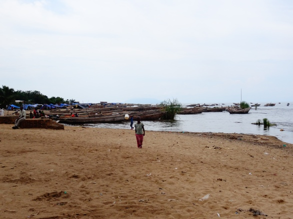 Fisherman village along Lake Tanganyika, Burundi