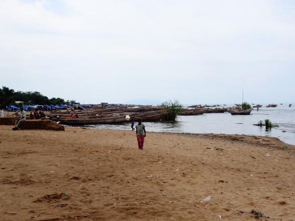 Fisherman village along Lake Tanganyika, Burundi