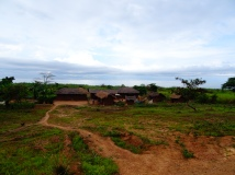 Tanzanian small village along Lake Tanganyika