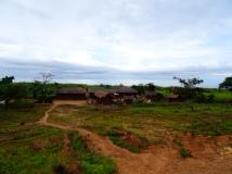 Tanzanian small village along Lake Tanganyika