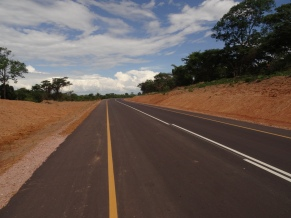 Brand new asphalt to exit Mbala, Zambia