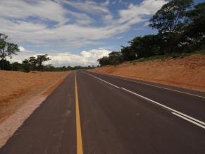 Brand new asphalt to exit Mbala, Zambia