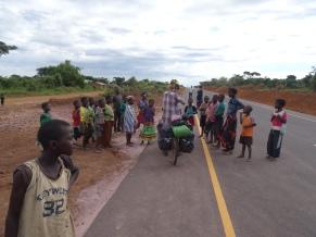 Mbala/Tunduma road in Zambia