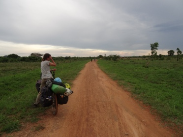 Zambian dirt road