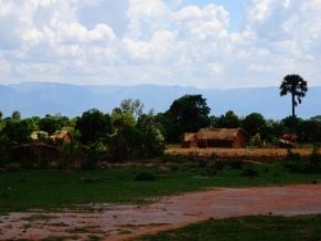 Zambian hut