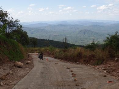 Climbing to Nyika Plateau, Malawi