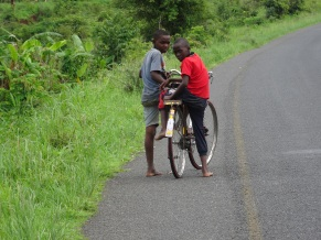Mozambican cyclists