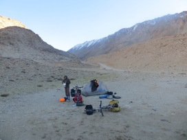 Wakhan corridor in the Parmirs, Tajikistan