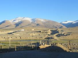 Arriving in Alichur, back on the M41, Tajikistan