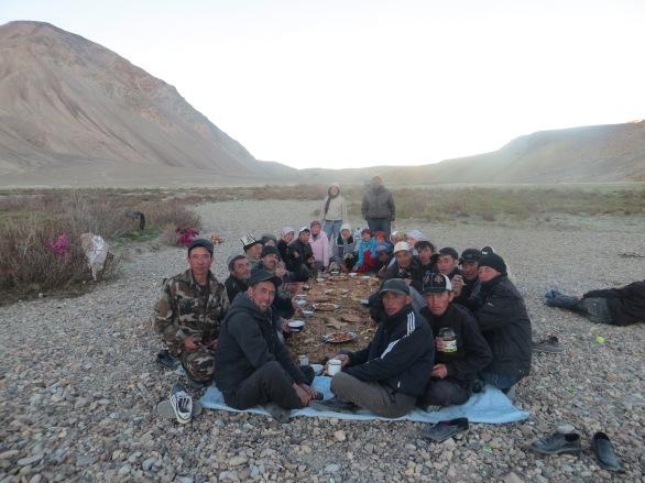 Rest day with teachers of Alichur, Tajikistan