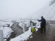 Snow storm in June in Kirghizstan !