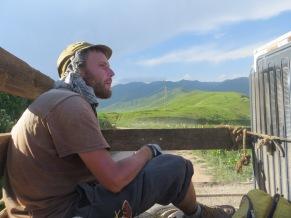 On our way to Toluk, Kirghizstan