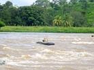JP shooting El Castillo's rapids, Nicaragua