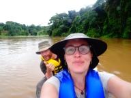 Two vagabonds on a raft, Nicaragua