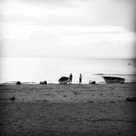 Fisherman, Lake Malawi, Malawi