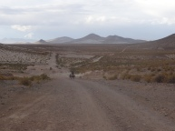 Sabaya-Coipasa road, Bolivia