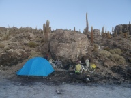 Camping on Incahuasi