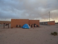 Day 1. Our camping spot in Sullchi, Bolivia