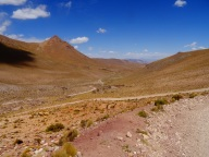 Day 6. Looking at our route in direction of Quetena Chico, Bolivia
