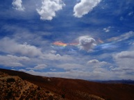 Day 7. Weird rainbow in the sky, Bolivia