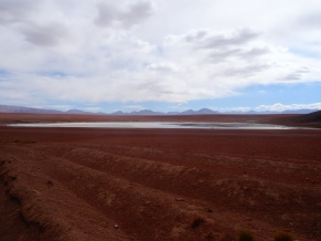 Day 9. Laguna with abandoned salt mine, Bolivia