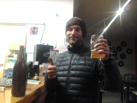 Microbrew beer in Bariloche, Argentina