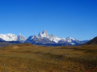 First view of the Fitz Roy, Argentina