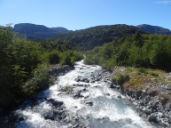 One of the numerous rivers on the way, Chile
