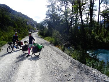 Cycling the Carretera Australe at three now