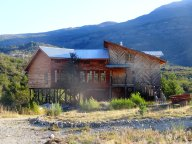 Patragonian wooden house, Chile