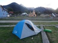 Camping in Villa