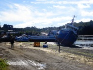 Quellon, island of Chiloe, Chile