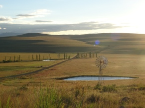 Getting to Harrismith, Free State, SA