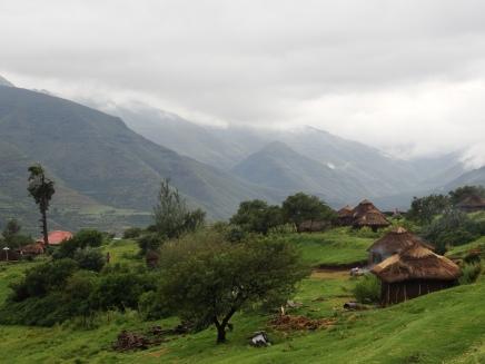 Basotho village, Lesotho