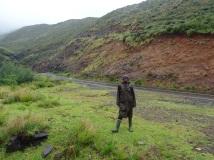Basotho cattle boy, Lesotho