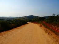 Road in the Nyonyane Protected Area