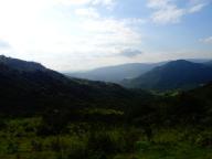 View on Swazi mountains