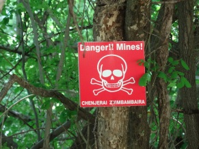 Mines !
